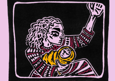 YNWC Mimi Ronson 'Kaur' Ilustrated by Tricia Mercer David